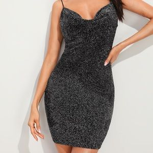 SHEIN Bodycon Glitter Dress